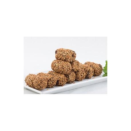 Bio Croquetas Veganas de Espinacas, Pasas y Nueces