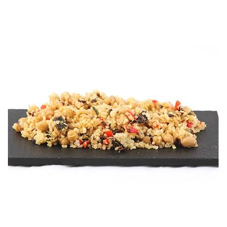 Bio Ensalada Vegana de Quinoa y Garbanzos