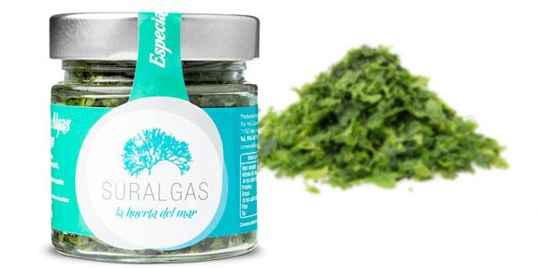 Especias de algas marinas