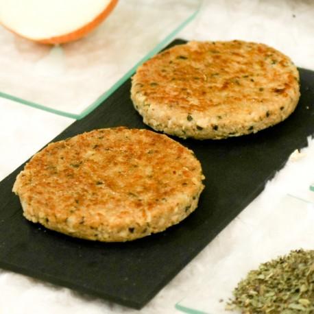 Bio Hamburguesa Vegana de Soja y Seitan