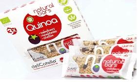 Pack 3 Barritas Ecológicas Natural Bars con Quinoa y Arándanos
